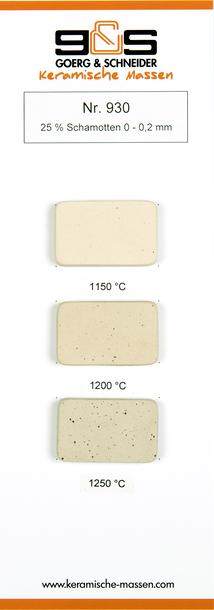 Masa ceramiczna G&S 930 (1)